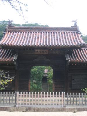 閑谷学校の門