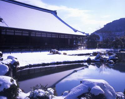 冬の天龍寺