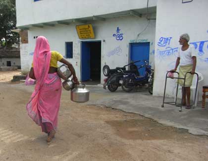 インド カジュラホ村