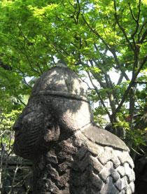 韓国の石文化