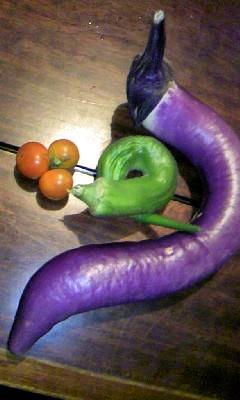 変わった形の野菜