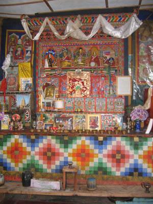 ブータンの仏間1
