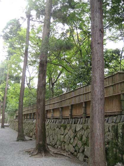 大徳僧堂の垣根