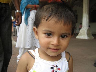 インドで出会った少女