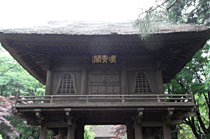 平林寺_山門