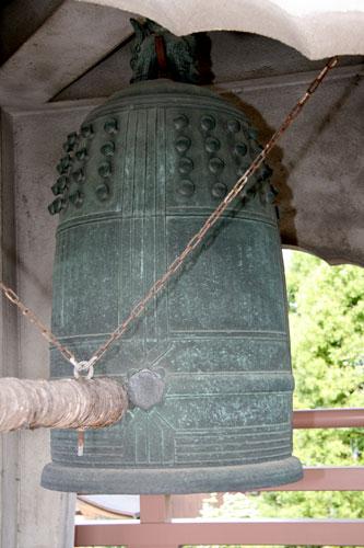 愚堂禅師の鐘銘が残る梵鐘