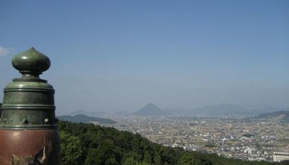 さぬき富士を眺める