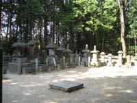 柳生家歴代の墓