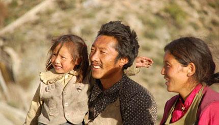 チベットの人々