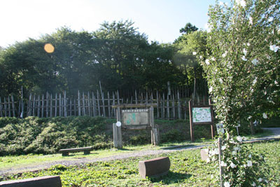 石田三成の陣の跡