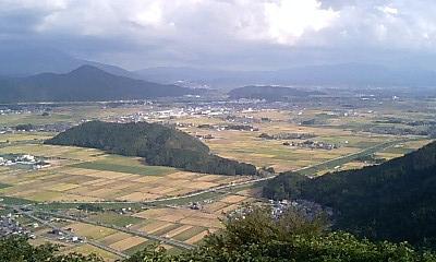 賤ヶ岳からの眺望